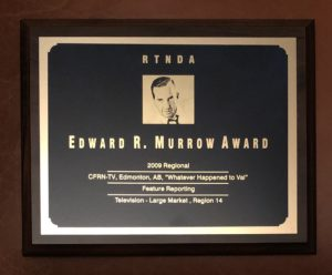 Edward R Murrow Award